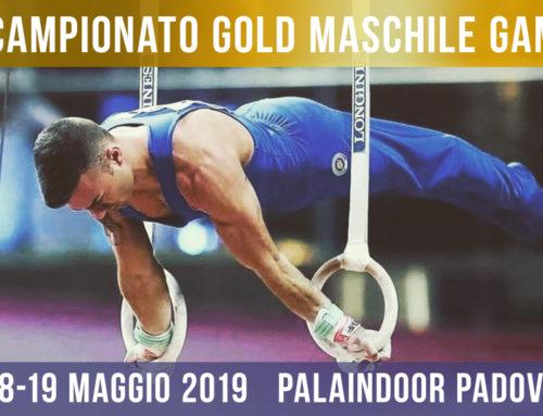 Campionato Gold Maschile GAM – 18/19 Maggio 2019