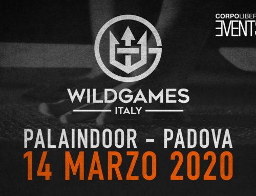 Wild Games Italy – 14 marzo 2020